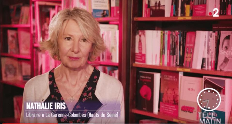 Nathalie Iris Présente Sa Chronique Télématin