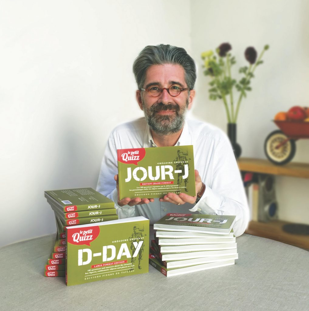 Grégoire Thonnat et son livre Jour-J