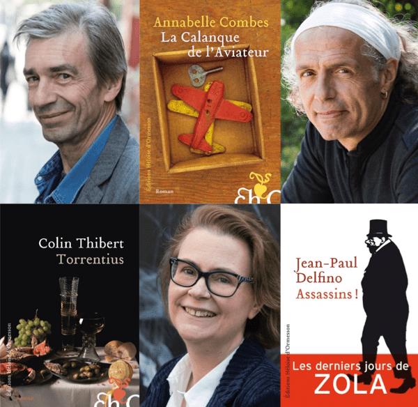Damier De Livres Et D'auteurs De L'éditrice Héloise D'Ormesson