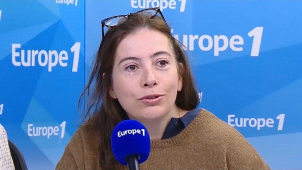Portrait d'Anne Goscinny sur Europe1