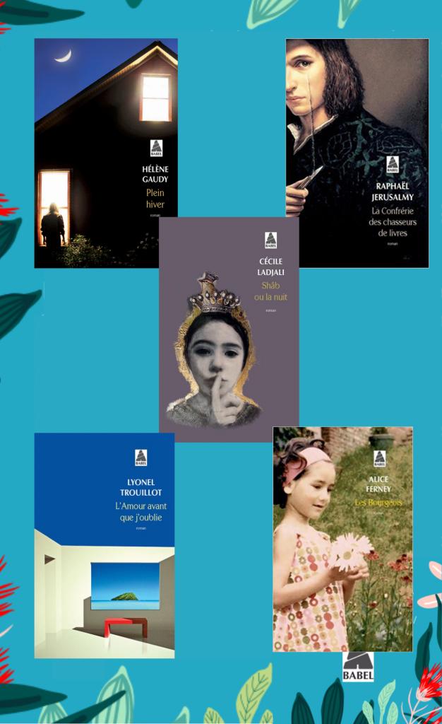 Prix Babel des lecteurs Mots en Lignes 2022